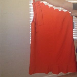 Bright orange Victoria Beckham plus size 2x